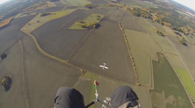 Parachutisme Avion Accident Danger