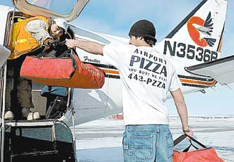 Pizza Avion Rennes Alaska