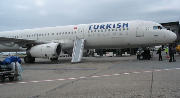 Turkish Airlines Toboggan Ouverture Parking