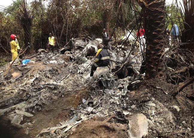 Un avion guinéen se crashe aux abords de Monrovia